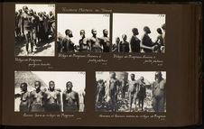 Hommes et femmes massa au village de Mogroum