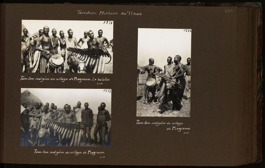 Tam-tam indigène au village de Mogroum