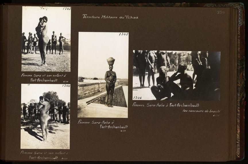 Femmes sara-kaba à Fort-Archambault