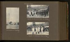 Inspection du détachement belge de Zongo