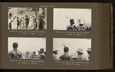 Avant une prise de vue cinématographique au village de Vogpo