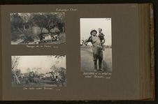 Bergonié et un enfant noir avant Grimari