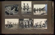 Indigènes de Bambari en costume de Gan'za