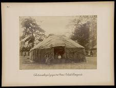 Kalmouks [Vue extérieure de la tente]