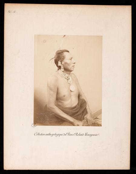 Collection anthropologique du Prince Roland Bonaparte. Peaux Rouges