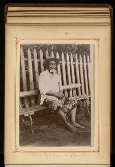 Vieux Tahitien à Papeete