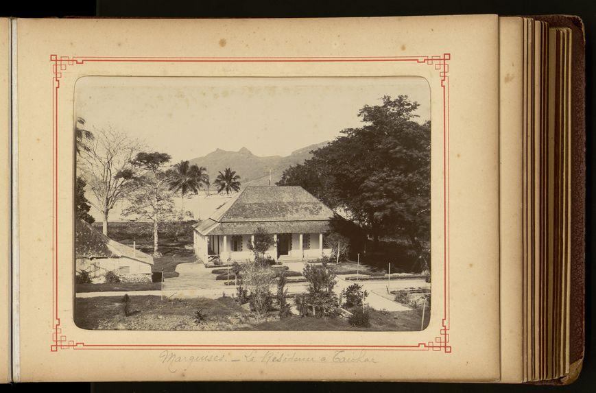 La résidence à Taiohae