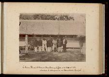 Le prince Hinoi, la reine de Bora Bora, une cheffesse et les chefs de l'Isle...