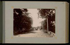 La route de ceinture au pont Fautaua vue du côté de Papeete