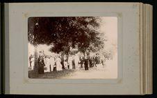 Après le déjeuner du 14 juillet 1896 chez le gouverneur et madame Gallet