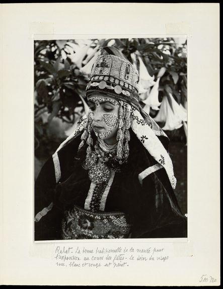 Rabat. La tenue traditionnelle de la mariée