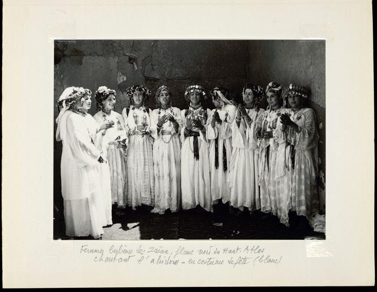 Femmes berbères des Zaïan