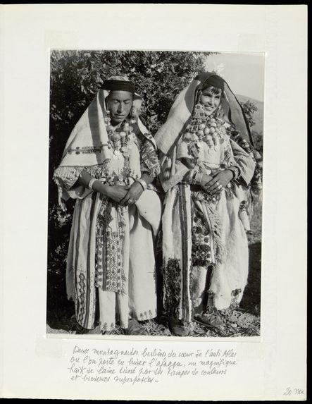 Deux montagnardes berbères du coeur de l'anti-Atlas.