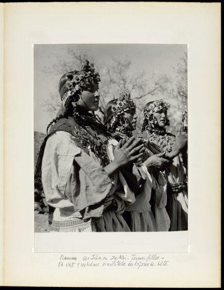 Danseuses des Ida ou Zekri