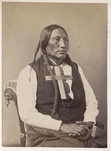 Wo-Po-Ham. White Horse. Southern Cheyenne