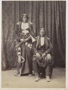 Whirlwind and Pawnee. Southern Cheyenne
