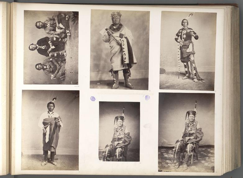 Qua-Qua-Ouf-Pe-Ka, or Dead Indian. Sacs and Foxes