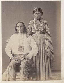 Cassadora and wife. Pinal