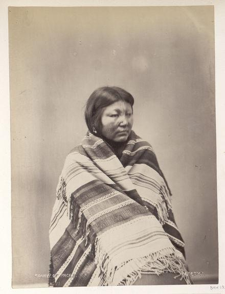 Pacer's squaw. (Front.) Essa-queta