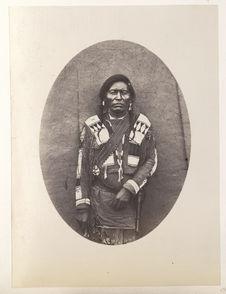 Guachinito. One who Dresses in Indian Clothes. Jicarilla