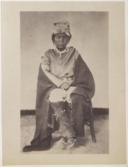 Sans titre [portrait d'un Indien Navajo]