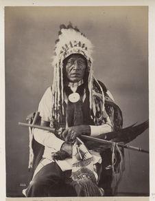 Pe-Ji'. Grass. (Front.) Blackfeet