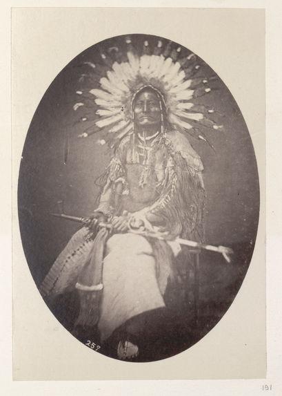 Wi'-Ya-Ka-Sha. Red Plume. (Copy.) Blackfeet