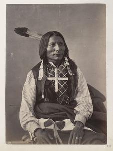 Shun-To'-Ke-Cha-Ish-Na-Na. Lone Wolf. (Front.) Ogalalla