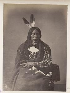 Wanmb'le-Ko-Ki'-Pa. Afraid of the Eagle. (Front.) Ogalalla