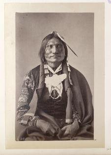Ta-Tan'-Ka-Was-Te'. Good Buffalo. (Front.) Ogalalla