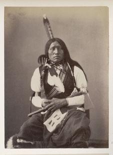 Wa-Kin'-Yan-Chi'-Tan. Thunder Hawk. (Front.) Oncpapa