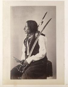 He-Sha'-Pa. Black Horn. (Profile.) Oncpapa