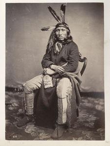 He-Ha'-Ka-A-Ma'-Na. Walking Elk. Yankton