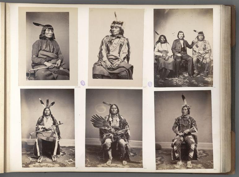 He-Ha'-Ka-A-Na'-Zin. Standing Elk. Yankton