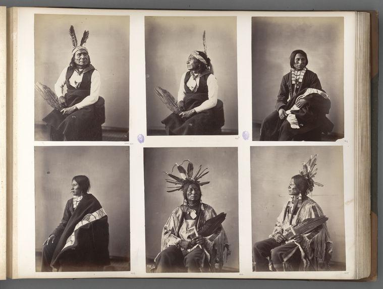 Hatona. Many Horns. (Front.)