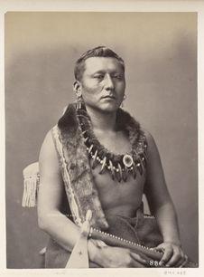 Shonga-Sa-Pa. Black Dog. Osages
