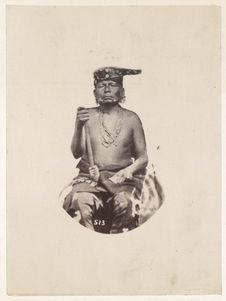 Kah-He-Ka-Wah-Ti-An-Ka. Saucy Chief. Osages