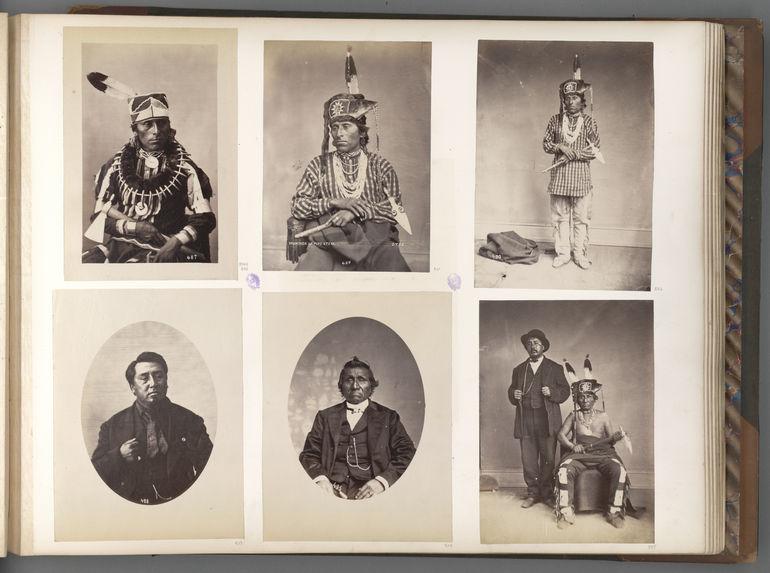 Tcha-Wan-Na-Ga-He. Buffalo Chief. Dakota-Otoes