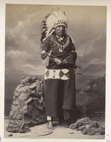 Ta-Táu-Ka-Nú-Zhe. Standing Buffalo. Ponca