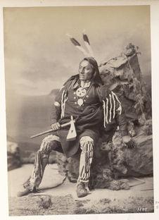 Gihega. Big Chief. Ponca