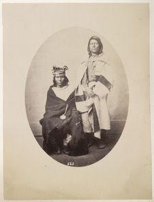 Sans titre [portrait d'Indiens Pawnees]