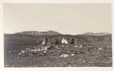 Ute encampment
