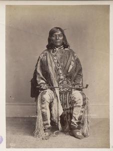 Ta-ma-son, or Timothy. Nez-Percés. Sahaptins