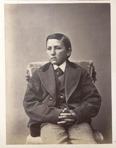 Sans titre [portrait d'un jeune garçon]