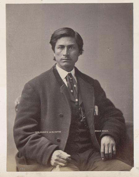 Ol-ha-the, or George Harvey. Rogue Rivers