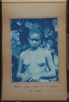 Pouiné, femme indigène de l'île Maiwo