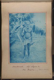 Marikintosch, chef indigène de l'île Deception