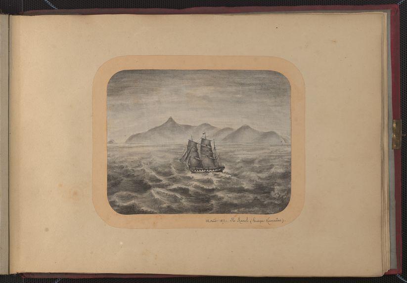 25 août 1878, île Raoul