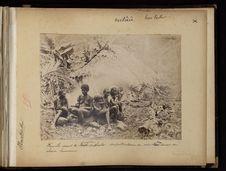 Famille dans la brousse de Simbo
