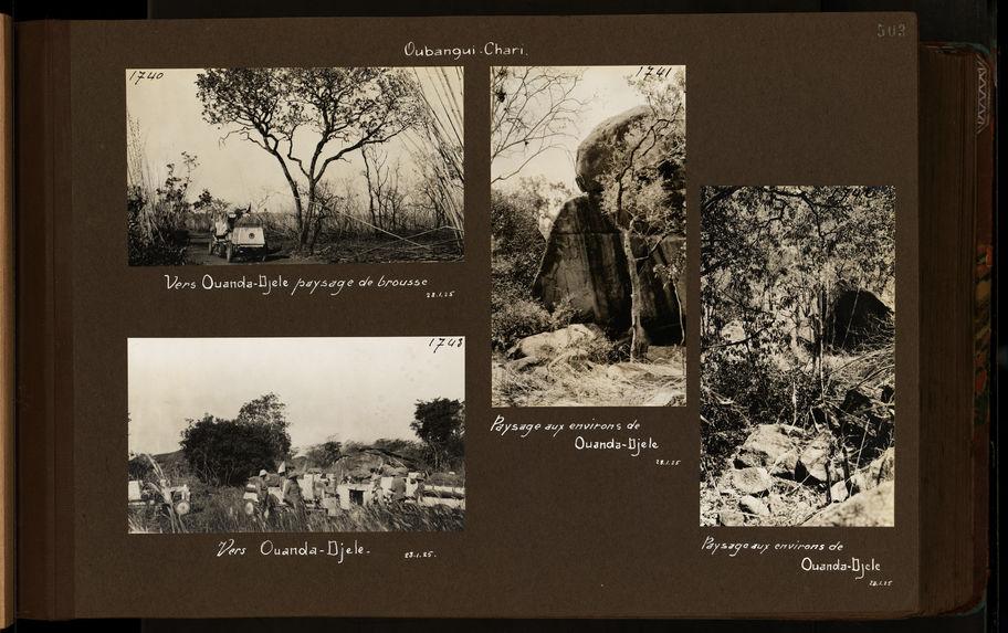 Paysage aux environs de Ouanda-Djele